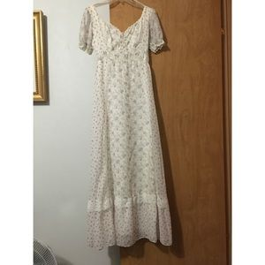 Vintage late 70's / early 80's dress